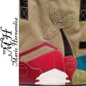 Authentic Mario Hernandez tote bag
